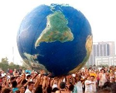 Día Mundial de la Población en foto