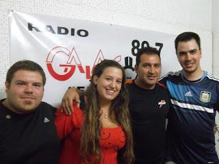 Qué placer verte otra vez Pablo Parra. Toda la info de cara a Alvarado Cipolletti en Cipo Pasión Radio