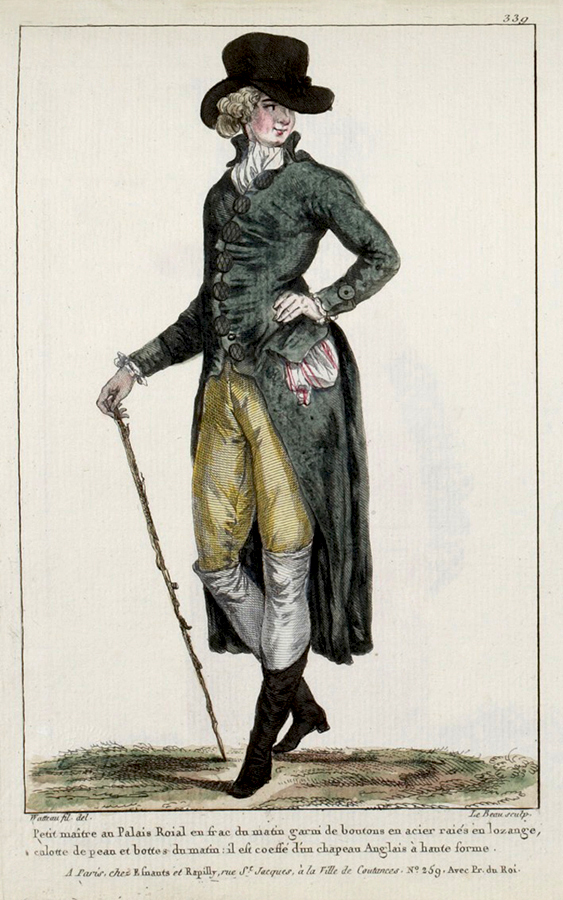 Mens Fashion French