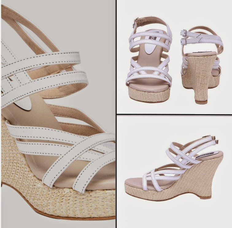PAIO white wedges