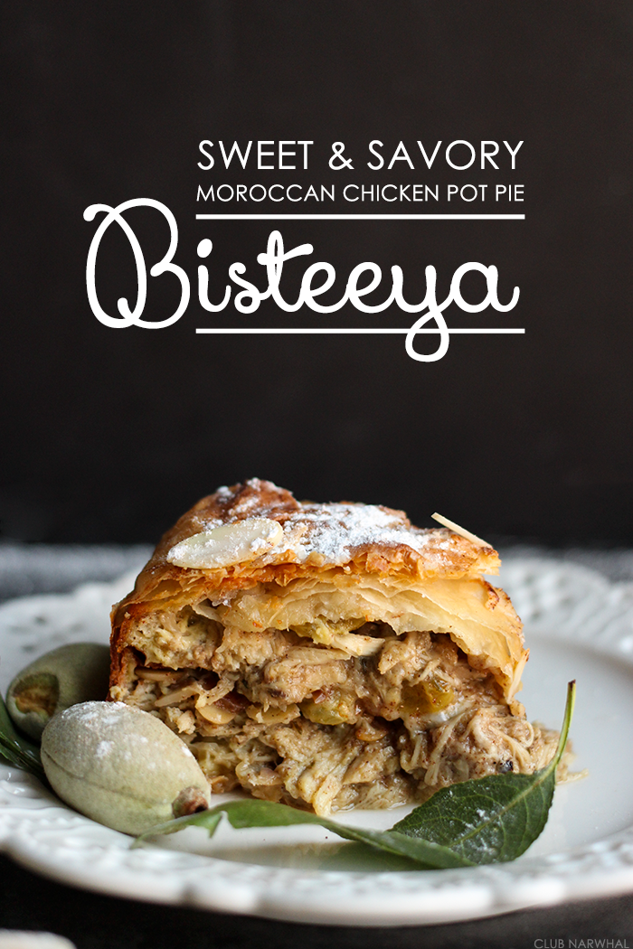Bisteeya | Sweet and Savory Moroccan Chicken Pot Pie
