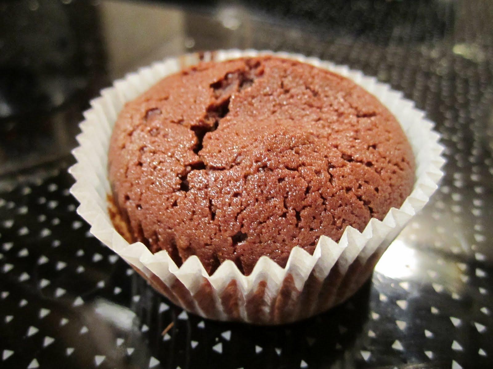 enkle sjokolademuffins