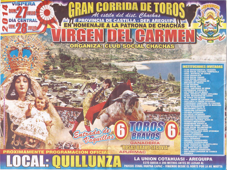 CORRIDA DE TOROS 2014