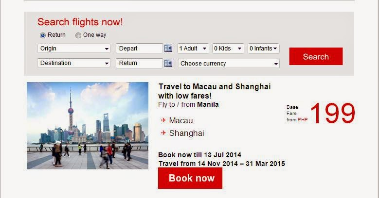 AIR ASIA - Fly now to your favorite domestic destinations with 75% off!