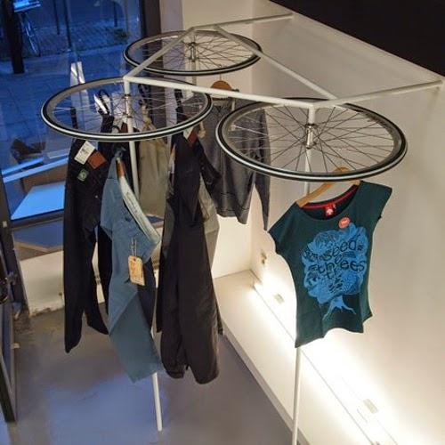 10 Ideas para Reciclar Ruedas de Bicicleta