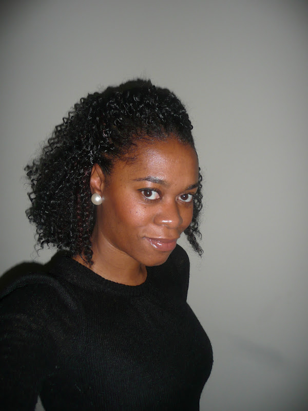 Crochet Braids Pulled Back : ... braids right in the front so I think it looks great when pulled back