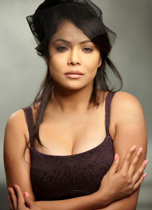 Nikitha Rawal Hot Cleavage Photos