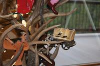 antler Christmas tree