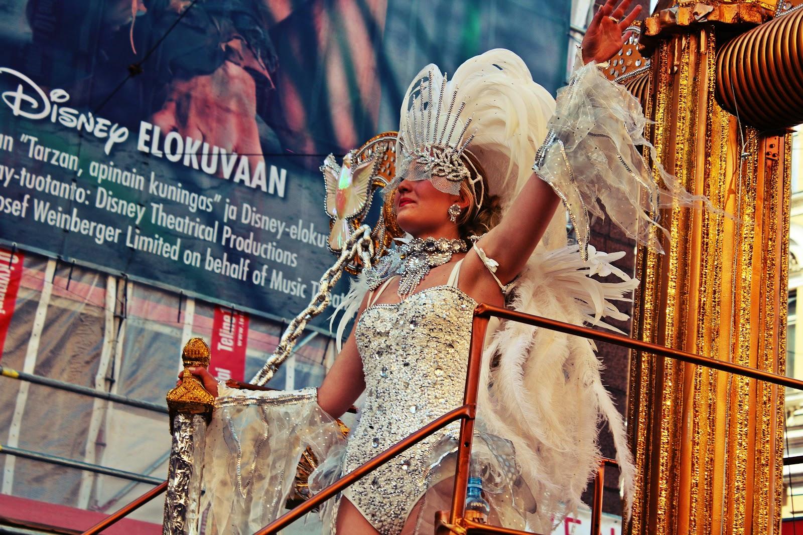 Карнавал Самба 2014 в Хельсинки.