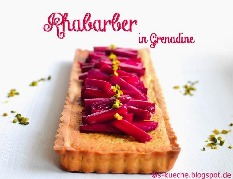 Rhabarber-Frangipane Tarte