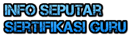 INFO SEPUTAR SERTIFIKASI MTS