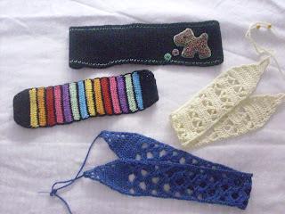 cintas pelo crochet