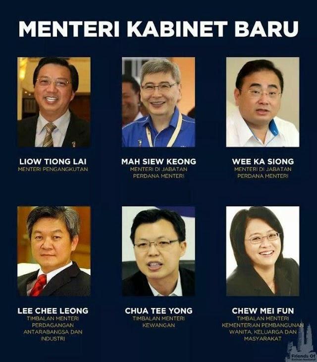 Gugur Menteri Kabinet Malaysia Jun 2014?!