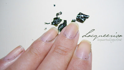 PVA base - peel off glitter
