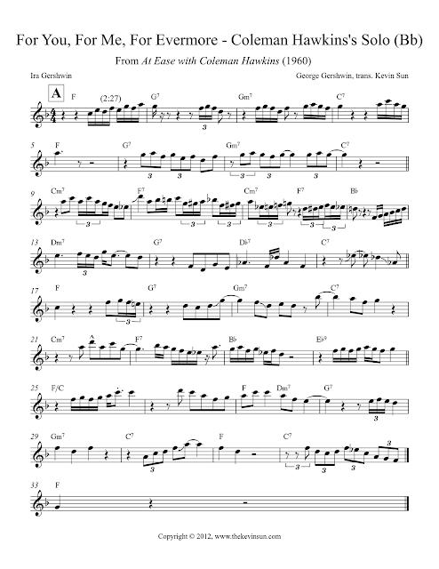 Solo Transcriptions Sax Saxopedia
