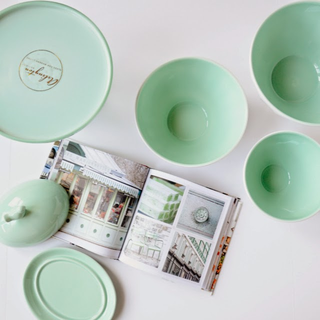 Mint bakeware for spring time and easter from Homesense canada, Homegoods