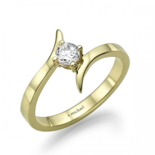 טבעת אירוסין mc-2291