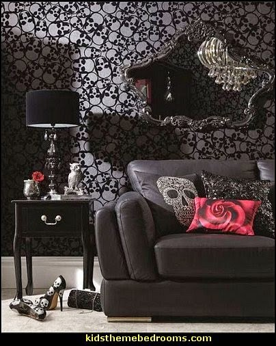 Design A Gothic Teen Bedroom Gothic Teen Bedroom : ... Gothic Room - Goth style for teens - Gothic Victorian Bedroom Theme