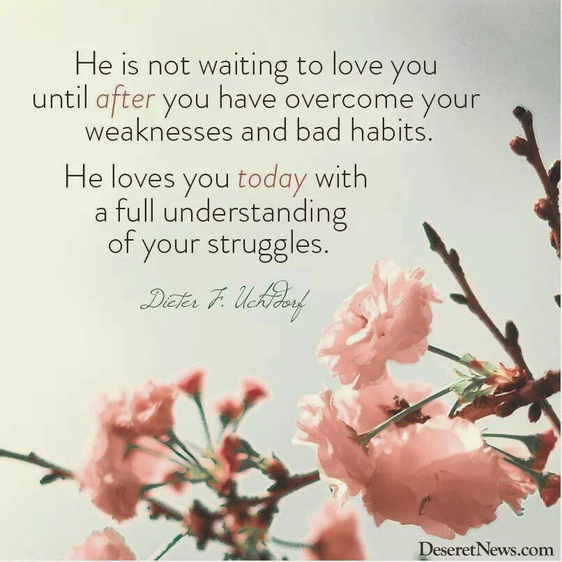 He Loves You Today...