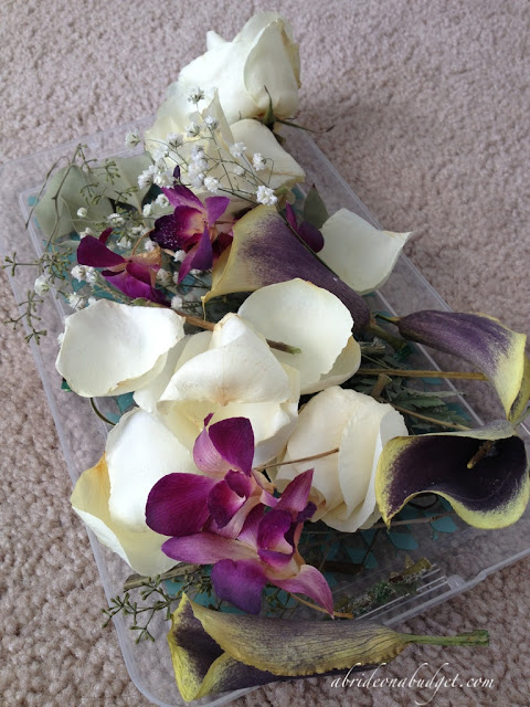 Drying Bridal Bouquet Silica Gel : Five things to do with your wedding flowers after