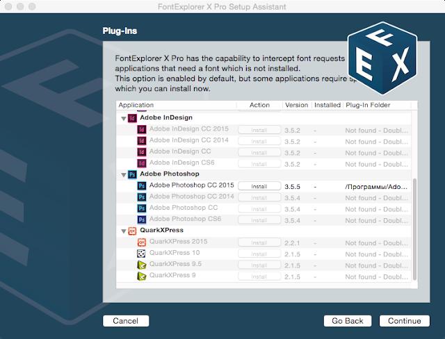 FontExplorer X Pro 5.0.2 cracked for Mac