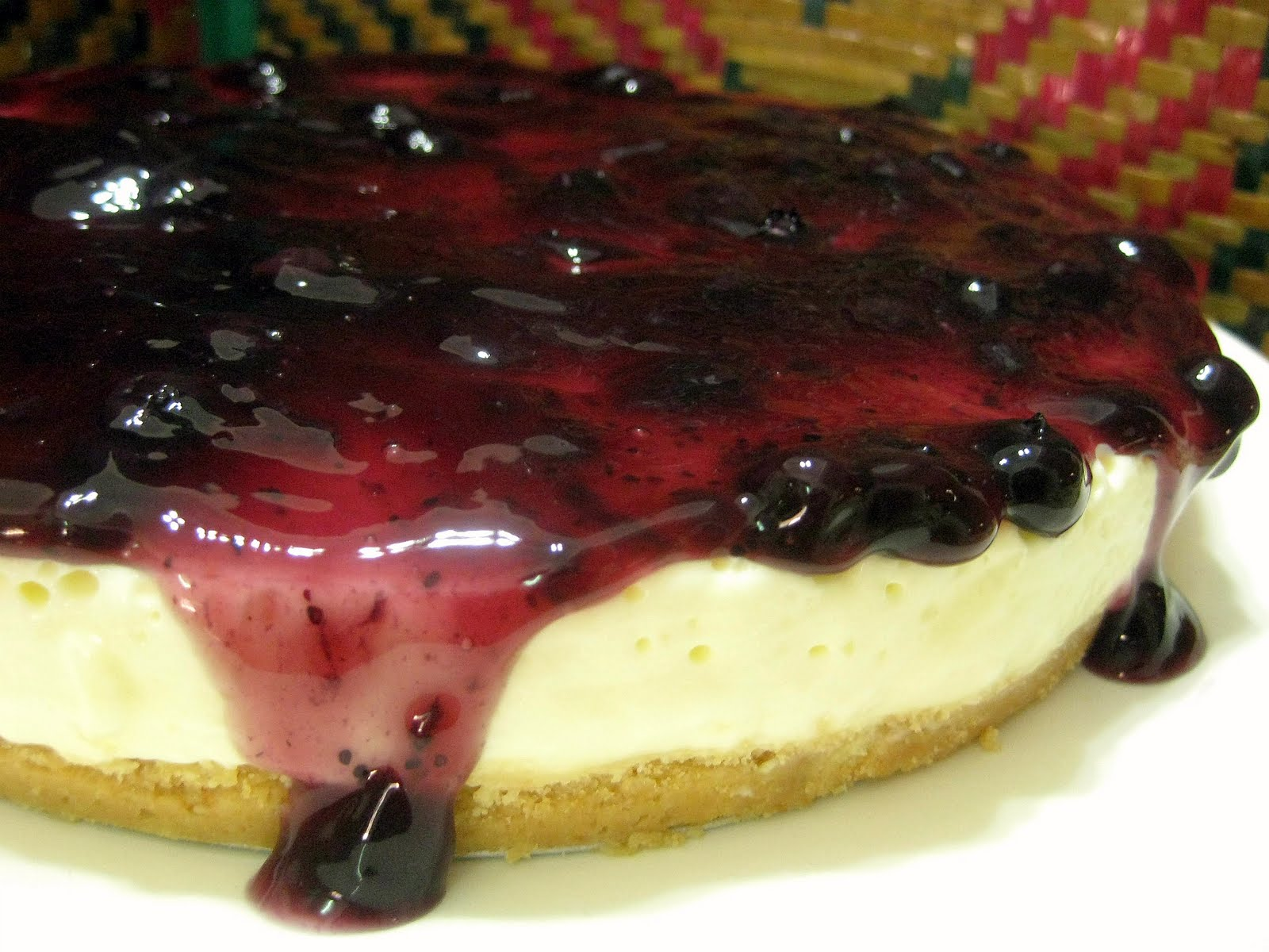 Resepi Blueberry Cheesecake