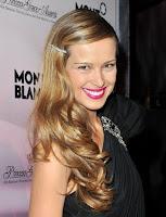 Petra Nemcova Studded Bobbi Hairstyle