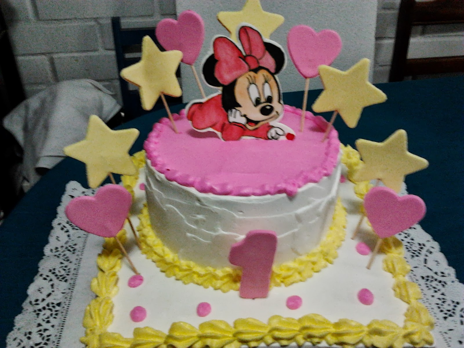 Torta minnie mouse bebe