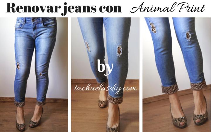 Jeans aprender manualidades es - Decorar pantalones vaqueros ...
