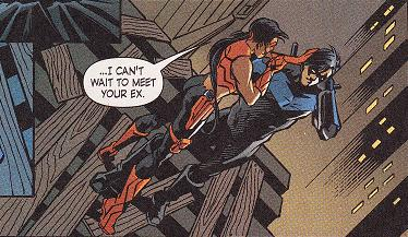 Who should Dick Grayson choose to be his girlfriend? - Dick ...