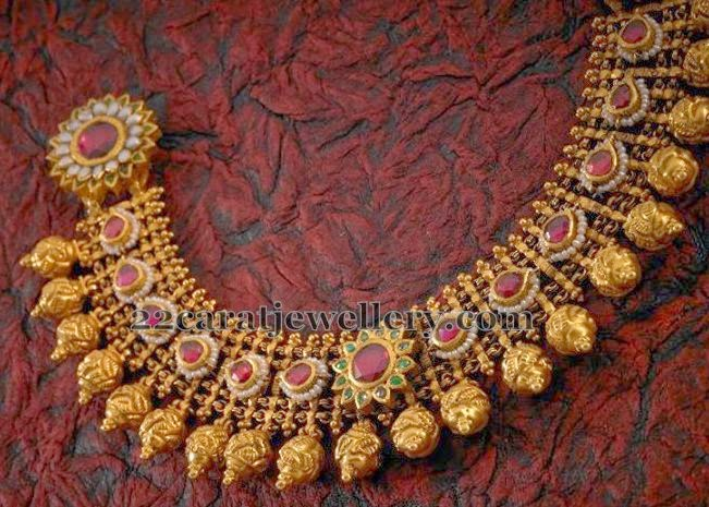 Antique Mughal Set By Tibarumal Jewellery Designs