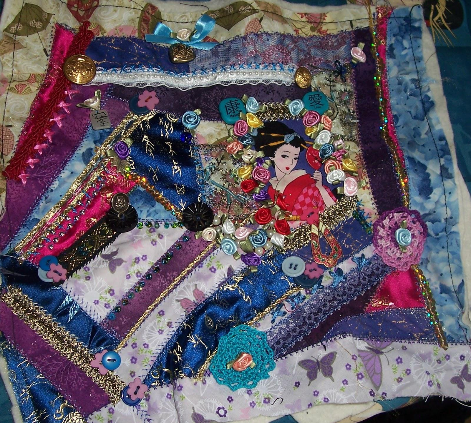 Erika S Chiquis My Crazy Quilt Blocks