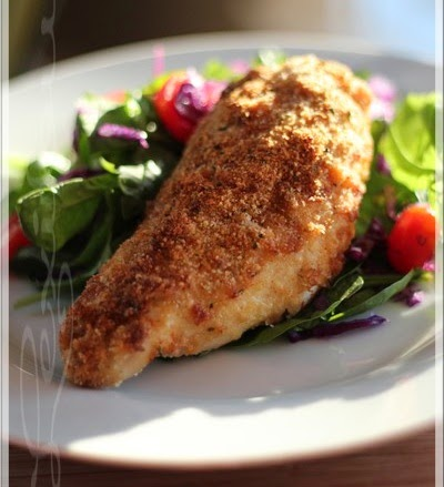 Boneless chicken Recipes, Parmesan crusted chicken