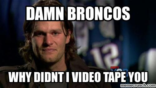 #patriotshaters #nfl #brady #broncos.- damn broncos why didnt I video tape you