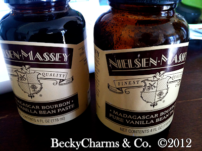 vanilla, vanilla bean paste, nielsen massey, williams sonoma