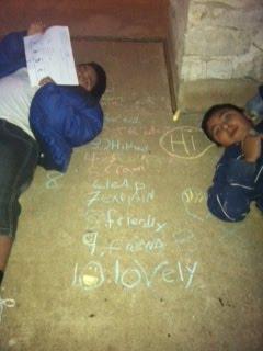 Jaydin's Spelling Homework
