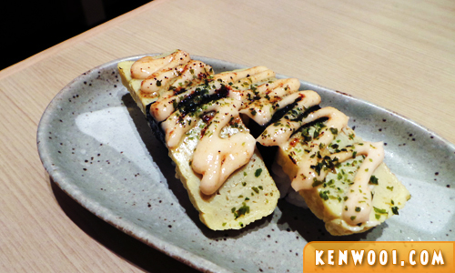 sushi zanmai tamago mentai
