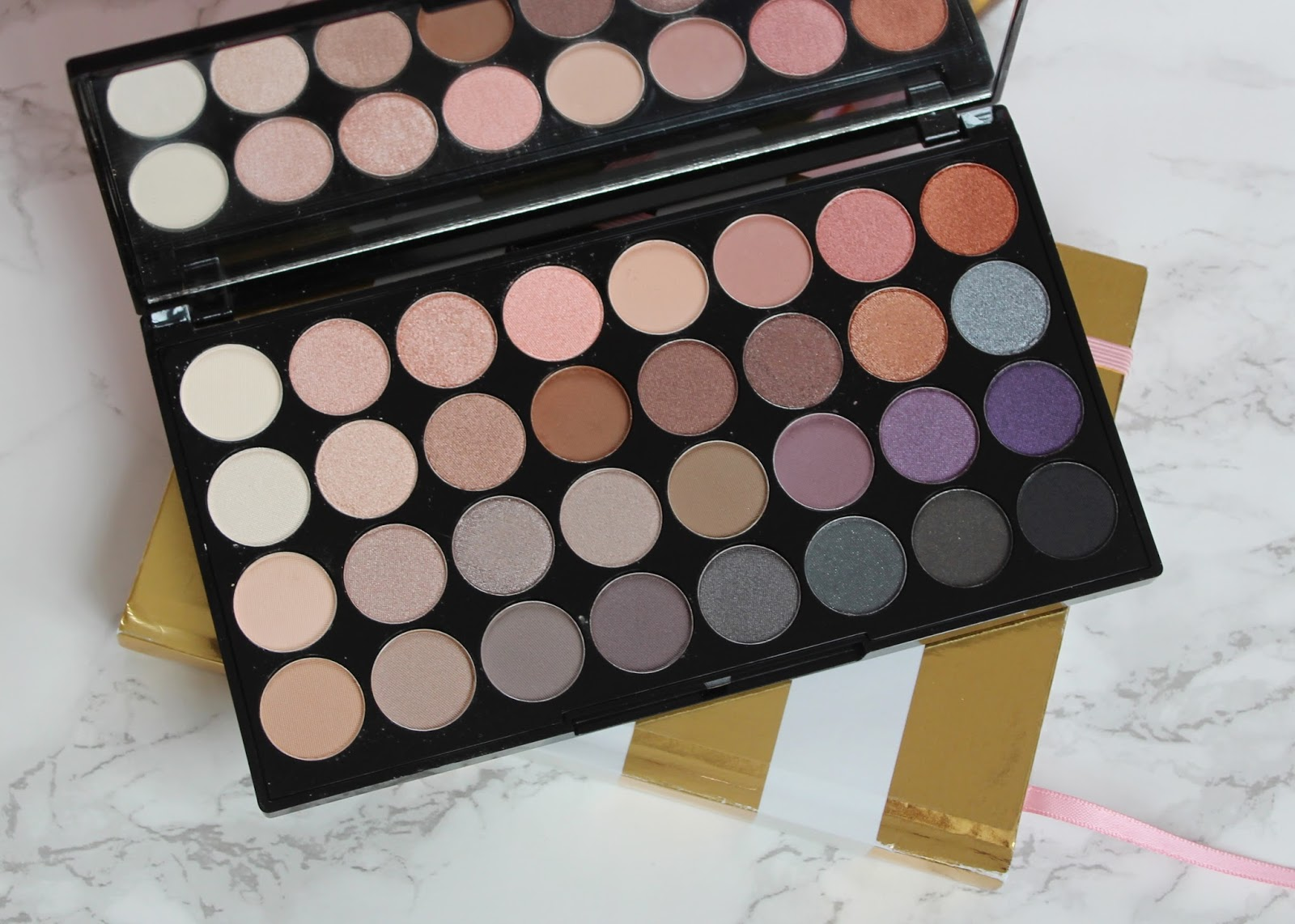 Makeup Revolution Affirmation palette review and swatches