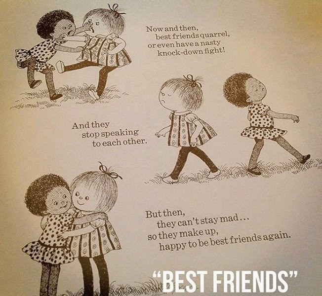 quarrel between two best friends Friendship is a relationship of mutual affection between people friendship is a stronger form of interpersonal bond than an association friendship has been studied in academic fields such as communication, sociology, social psychology, anthropology, and philosophy.