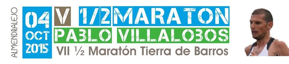 """VI Media Maratón """"Pablo Villalobos"""" · Almendralejo 2016"""