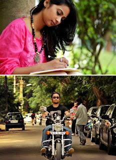 Sharanya Sonu and Jim Ankan Deka | stills from 'Xobdor Porisoy'
