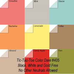 "Click Photo for Color Dare #405 ""TicTacToe"" - CLOSES Thurs Aug 13th"