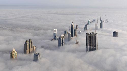 16 Amazing Photos of Fog in Dubai