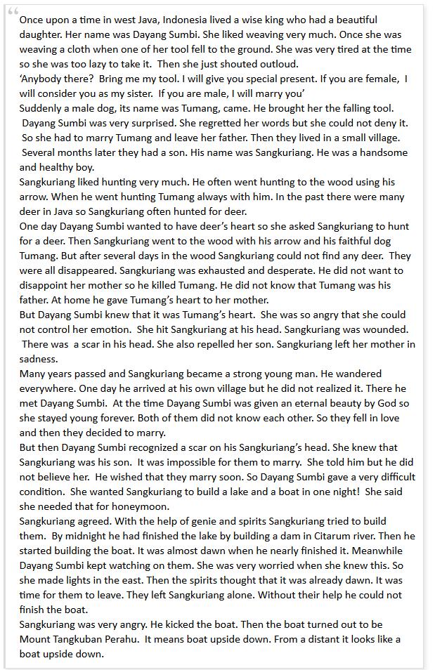 soal essay narrative text dan jawaban Essay outline university of toronto blues festivals 2016 3 paragraph expository essay contoh soal essay narrative text sma dan jawaban.