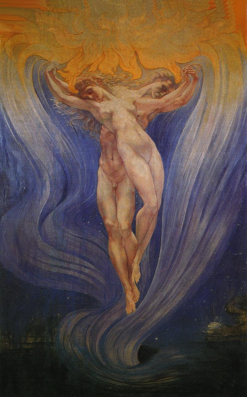 Jean Delville 1867-1953 - pintor simbolista belga