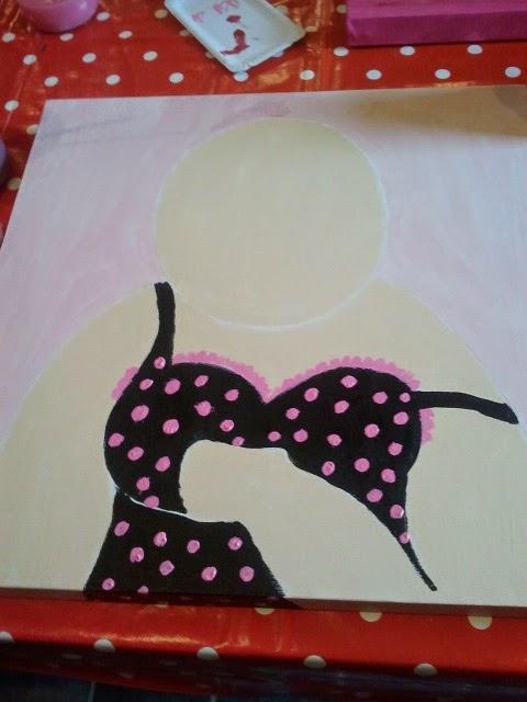 Wiesjes huishouden workshop dikke dames schilderen for Dikke dames schilderen