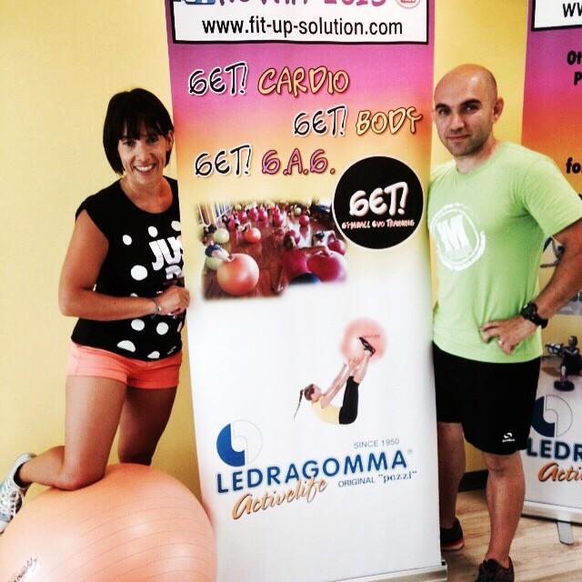 Formazione GET! Gymball Evo Training® -  5 e 6 Dicembre 2015 a Roma
