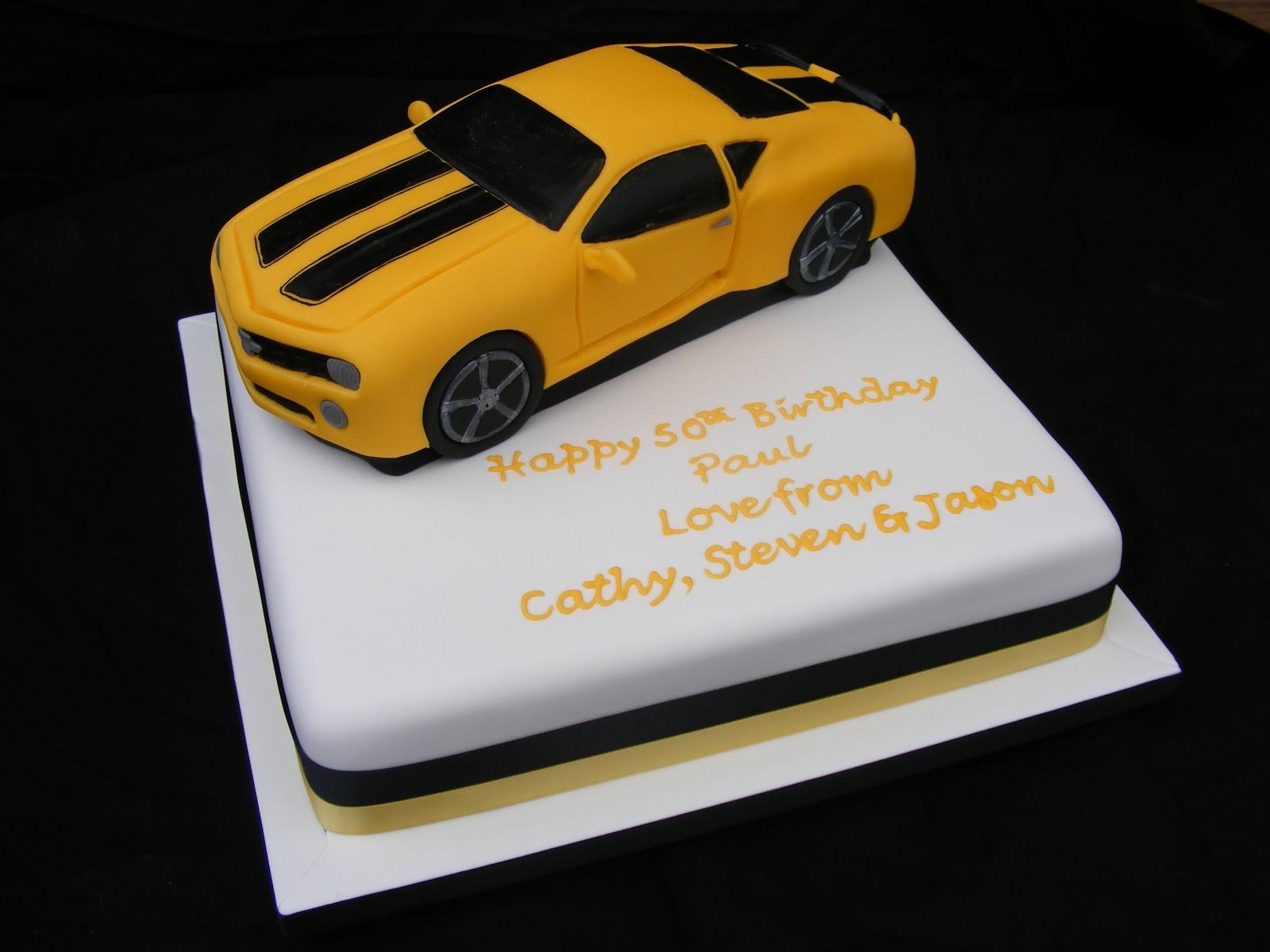 Cakes By Karen Transformers Bumblebee Car Cake