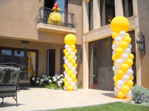 Interior design how to make a balloon arch and balloon for Balloon decoration how to make