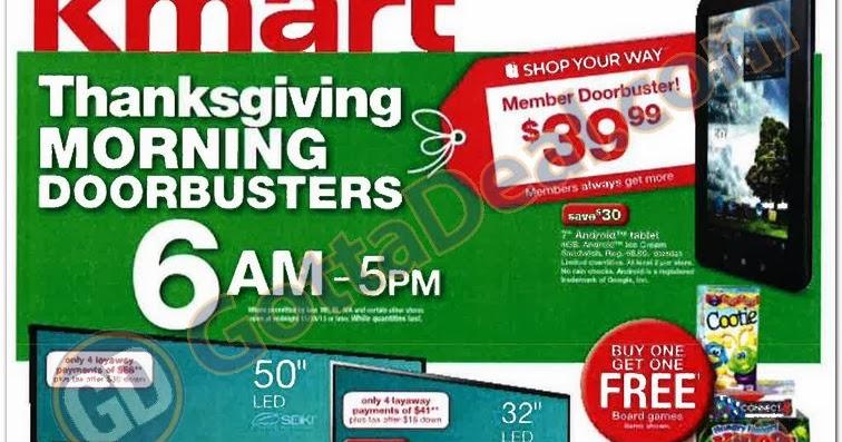 Kmart Black Friday Ad Black Friday Ads 2013